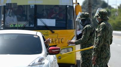 На Филиппинах задержали почти 19 тысяч человек за неправильное ношение масок