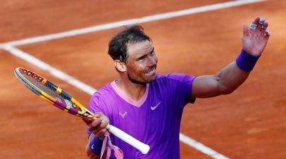Надаль обыграл Шаповалова в матче третьего круга турнира АТР в Риме