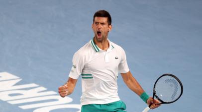 Джокович победил Циципаса и вышел в полуфинал турнира ATP в Риме