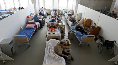 На Украине за сутки зафиксировали более 2 тысяч заболевших COVID-19