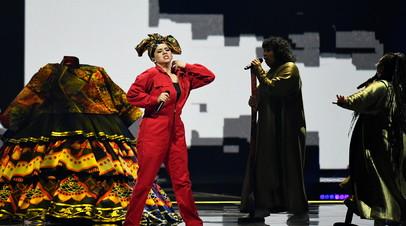 Manizha в первом полуфинале Евровидения