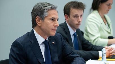 Блинкен заявил, что США продолжат выступать против строительства Северного потока  2