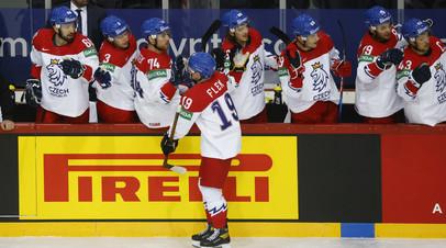 Сборная Чехии отыгралась в матче ЧМ-2021 с командой России