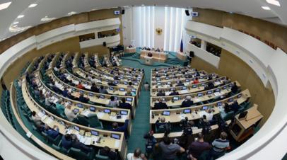 В Совфеде назвали лицемерным заявление главы Минобороны Британии о России