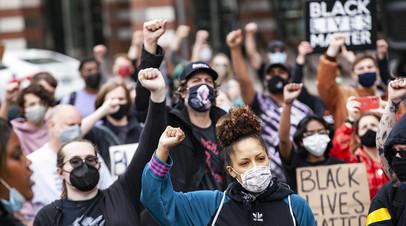 Активисты Black Lives Matter