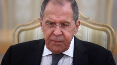 Лавров пообещал, что Россия не оставит Белоруссию в беде