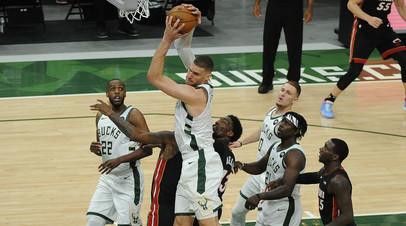 Милуоки разгромил Майами в матче плей-офф НБА