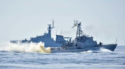 ВМС Украины и Британии провели совместную тренировку в Чёрном море