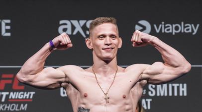 Российский боец UFC Хандожко подерётся с Далби на турнире 27 июня