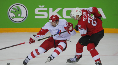 Толчинский оформил дубль в матче со Швейцарией