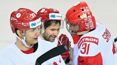 Каменский  о матче со Швейцарией: хоккеисты сборной России оживают