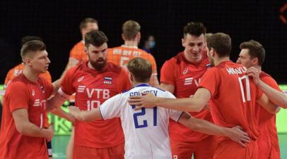 Сборная России по волейболу уступила Японии в Лиге наций