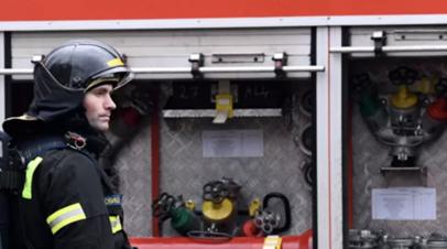 Пожар в гостинице в Петрозаводске локализовали