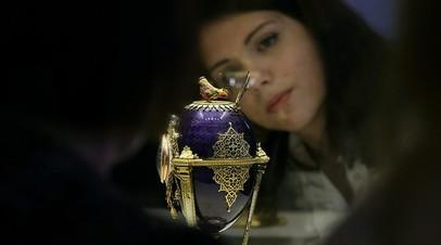 В музеях Московского Кремля рассказали о планах по коллекции Фаберже