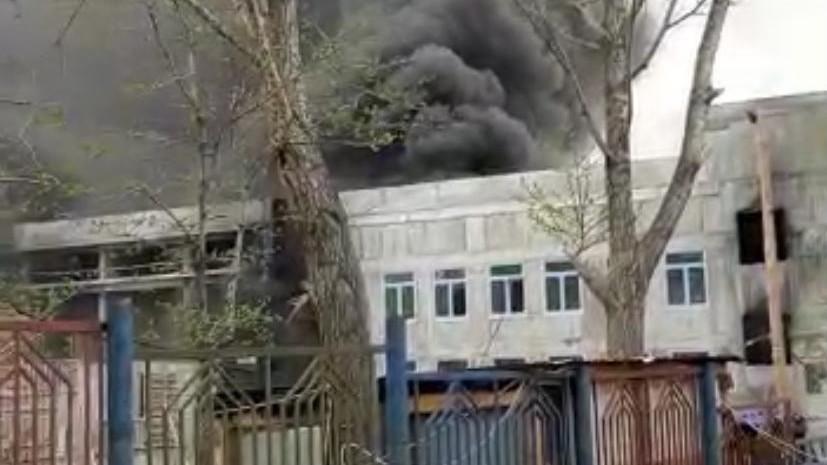 На Камчатке произошёл пожар в корпусе строящейся школы