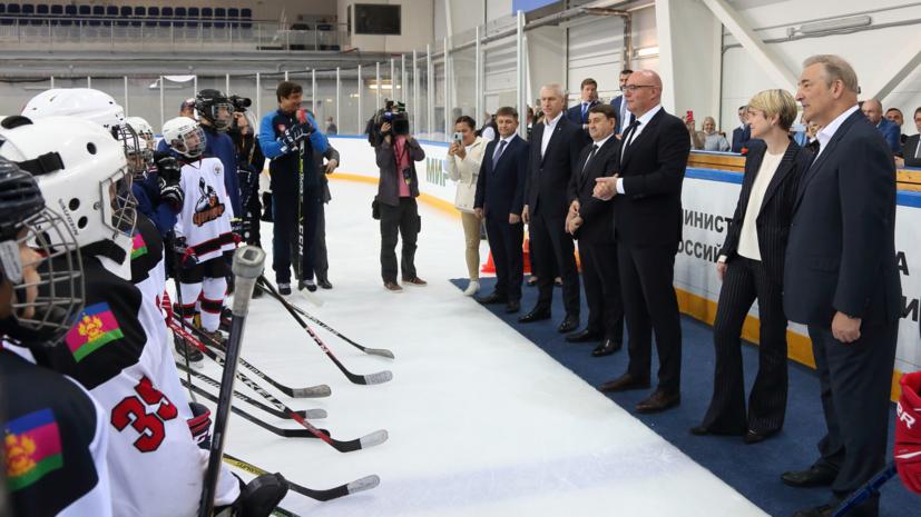 На федеральной территории «Сириус» открыли новый спортивный корпус