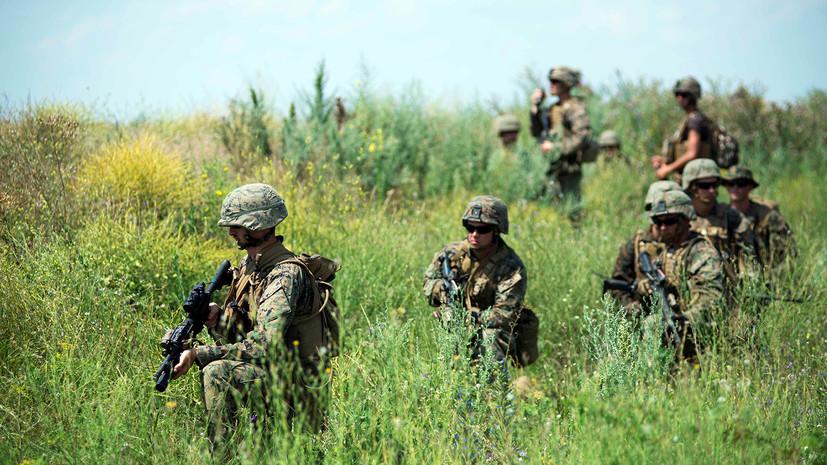 «Всё это будет направлено украинским войскам»: Минобороны обвинило НАТО в поставках оружия Киеву под прикрытием учений