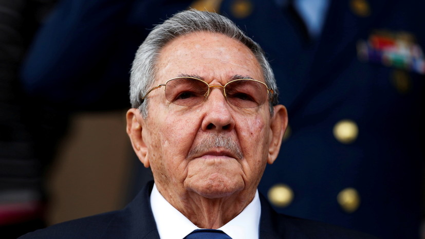 Путин поздравил Рауля Кастро с 90-летием