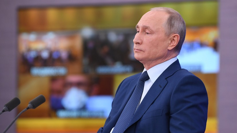 Песков заявил о подготовке прямой линии с Путиным