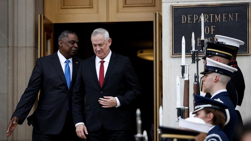 Глава Пентагона обсудил с министром обороны Израиля проблемы безопасности