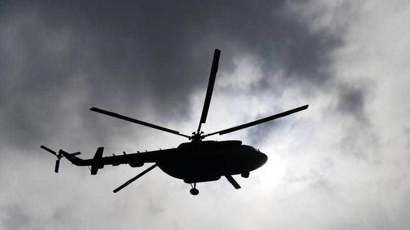 Акипресс: в Киргизии военный вертолёт Ми-8 совершил экстренную посадку