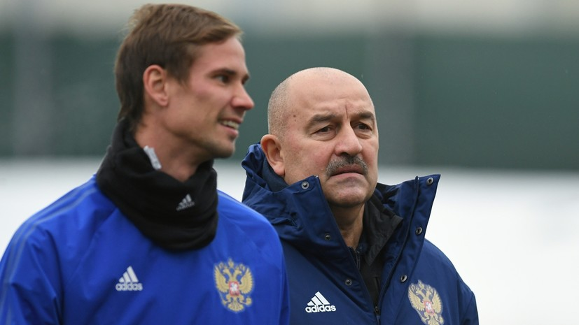 «Шунин у нас номер один»: Черчесов — об основном вратаре сборной России, матче с Болгарией и визите Киркорова