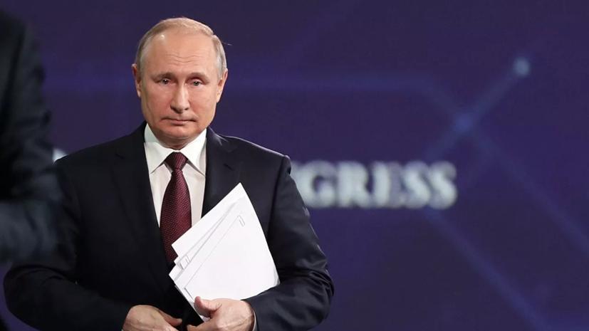 Путин назвал смешными обвинения в кибератаках на мясокомбинаты в США