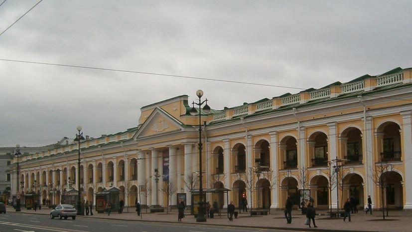 В июне могут открыть внутреннюю территорию Большого Гостиного двора в Петербурге