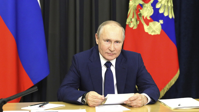 Путин оценил экономические отношения России и Китая