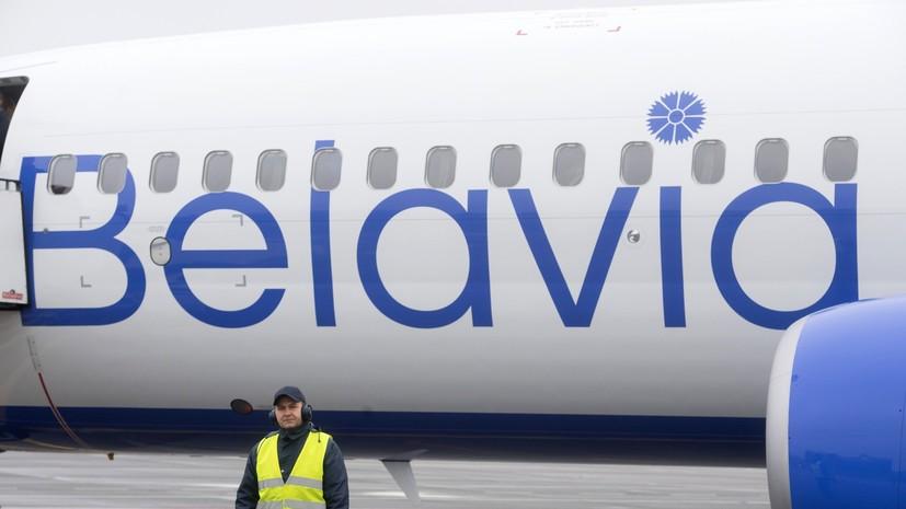 В Минске назвали рейдерским захватом санкции ЕС против белорусских авиаперевозчиков
