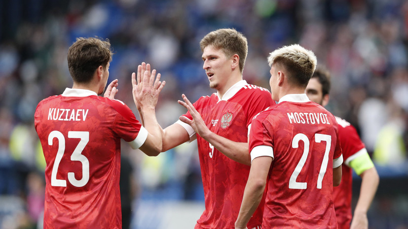 Россия победила Болгарию в контрольном матче перед Евро-2020