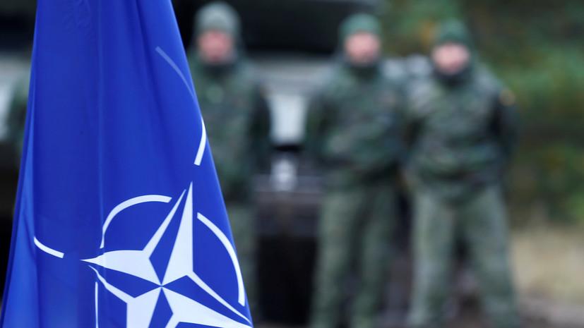 НАТО начало учения в Балтийском море