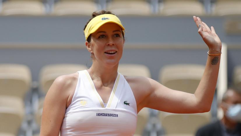 Павлюченкова одолела Азаренко и вышла в четвертьфинал «Ролан Гаррос»