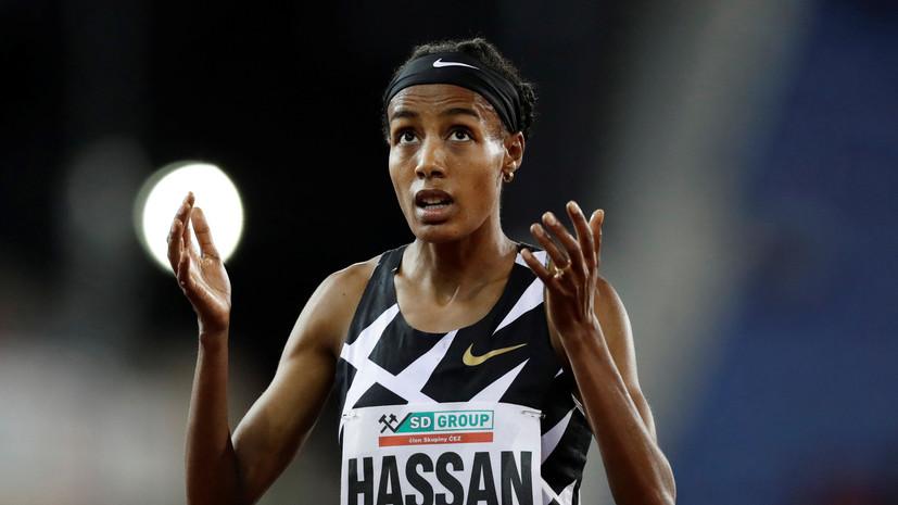 Нидерландка Хассанустановила новыймировой рекорд в беге на 10 000 м