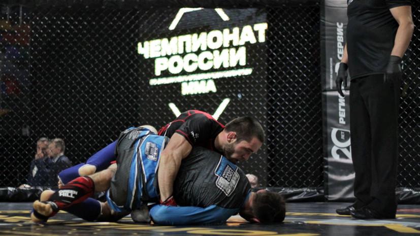 Приезд Емельяненко, выступление Джигана и триумф Исбулаева: чем запомнился чемпионат России по ММА 2021 года