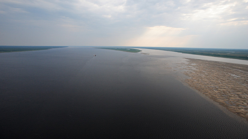 В Красноярске рассказали об уровне воды в реке Енисей