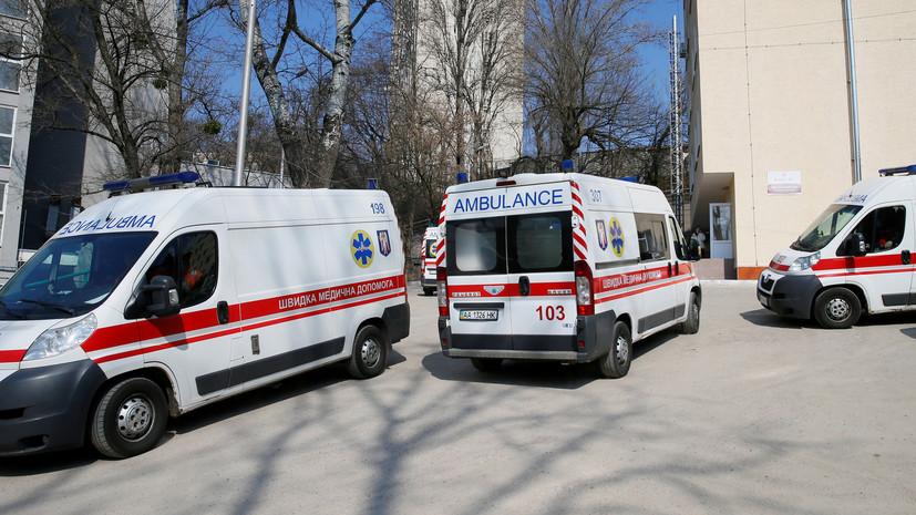 На Украине число случаев коронавируса за сутки возросло на 1602