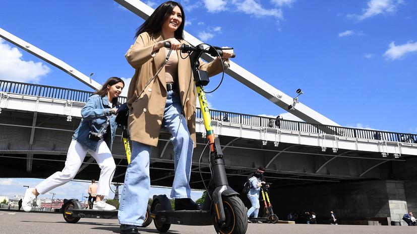 «Для совместного использования с пешеходами»: Минтранс предложил запретить тяжёлым электросамокатам выезжать на тротуар0