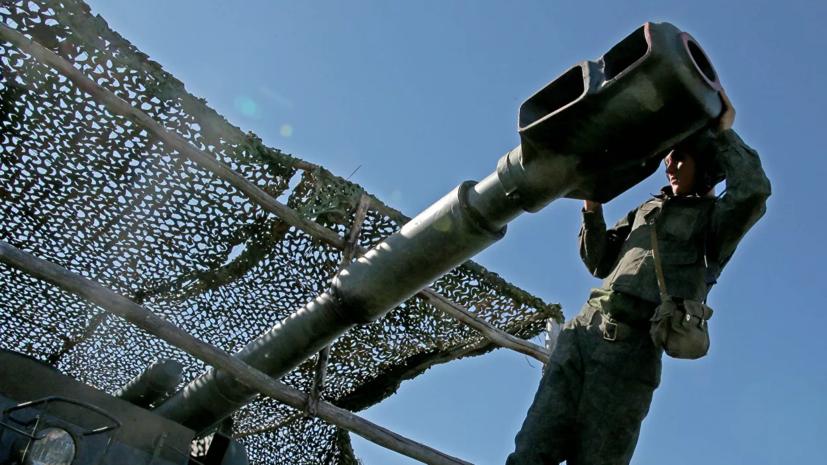 В Бурятии прошли учения артиллеристов ВВО