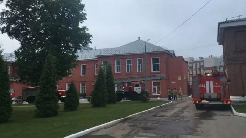 Пострадавшую при пожаре в Рязани медсестру эвакуировали в Москву