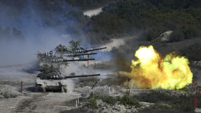 В Калининградской области состоялись учения танкистов армейского корпуса Балтфлота