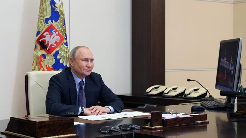 Путин: смешно и глупо называть русских некоренным народом Украины
