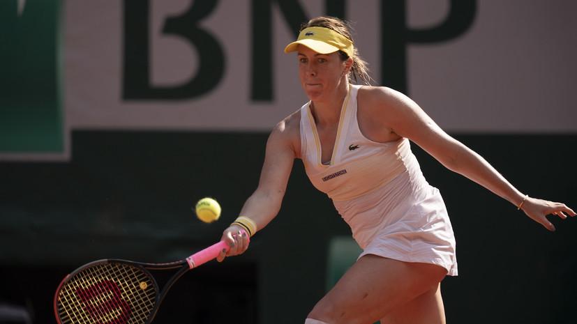 Павлюченкова впервые вышла в финал «Ролан Гаррос»