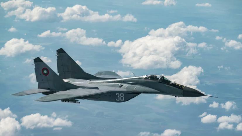 В Болгарии сообщили о гибели пилота пропавшего с радаров МиГ-29
