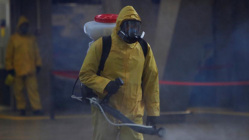 С начала пандемии в России продезинфицировано более 15 тысяч школ и больниц