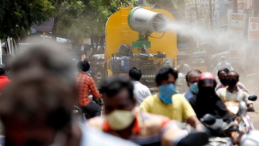 Число случаев коронавируса в Индии превысило 29,2 млн