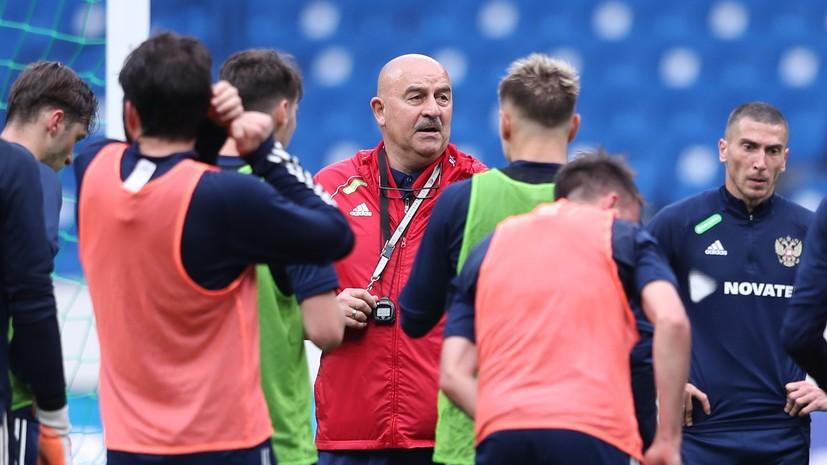 Черчесов рассказал о подготовке к матчу с Бельгией на Евро-2020