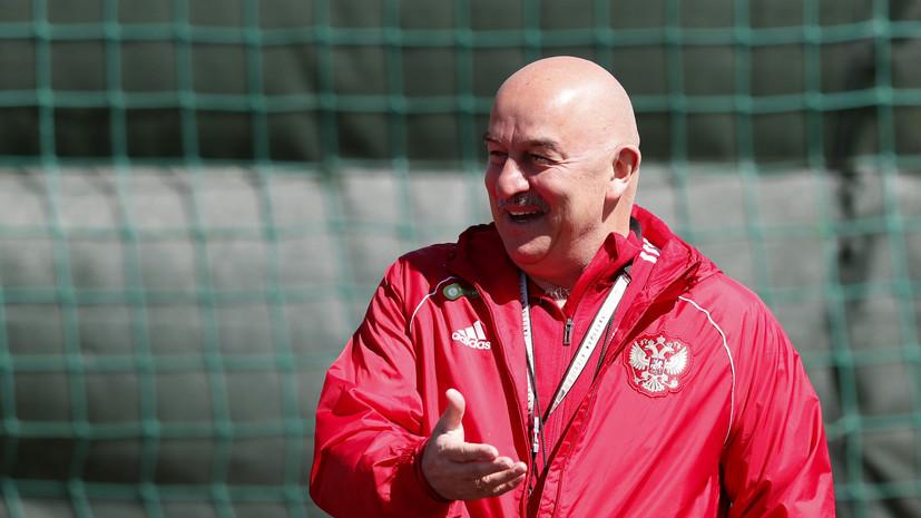 Черчесов рассказал о состоянии Фернандеса и Черышева перед матчем с Бельгией