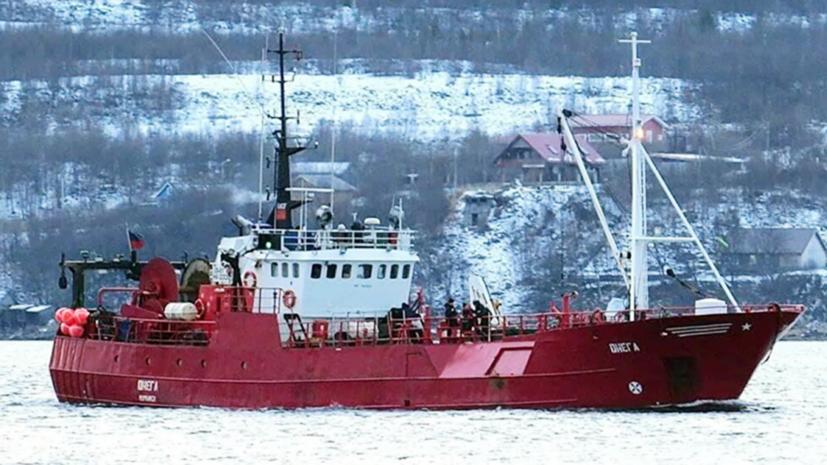 Стоимость — не менее 25 млн рублей: СКР добивается осмотра затонувшего судна «Онега» с помощью подводных аппаратов0