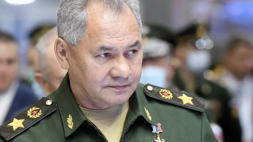 Шойгу провёл переговоры с министром обороны Вьетнама
